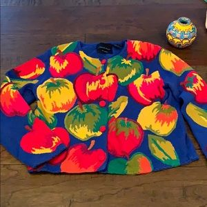 Vintage Michael Simon Apple sweater